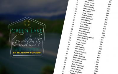 Lista prijavljenih učesnika Green Lake triathlona
